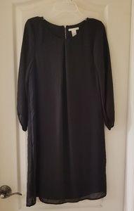 Womens 4 H&M black dress